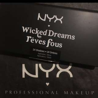 Bnew NYX Wicked Dreams Rèves Fous Eyeshadow Palette