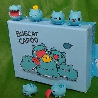 [現貨] 限量 正版 貓貓蟲 咖波 杯緣子4隻+特殊2隻+盒子