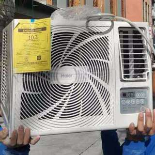 Brand new 1HP Haier Aircon with Remote and warranty