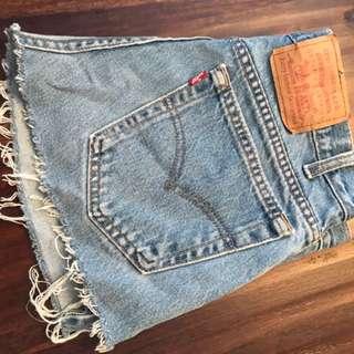 Levi's Jean Skirt mini