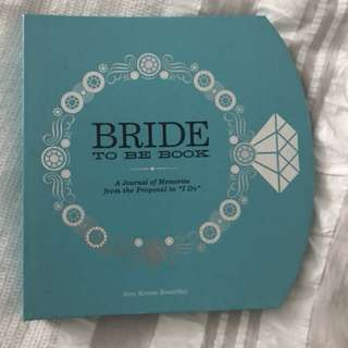 Bride-To-Be-Book Journal