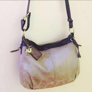 Coach 15760 Mia Signature Outline C Convertible Shoulder Bag