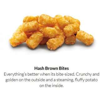 Tater Tots Hash Brown Bites
