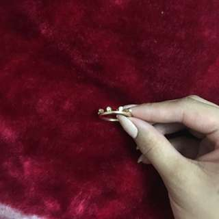 Cute forever 21 gold ring