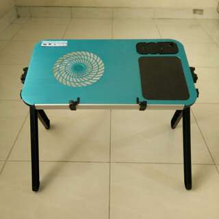 Dijual meja laptop portable with fan