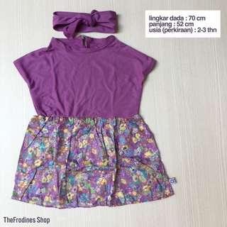 Lania Purple Dress (NEW-No Label)