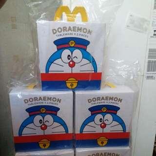 麥當勞 x DORAEMON餐具套裝