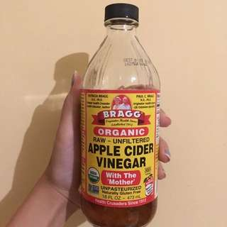 Bragg Apple Cider Vinegar//cuka Apel