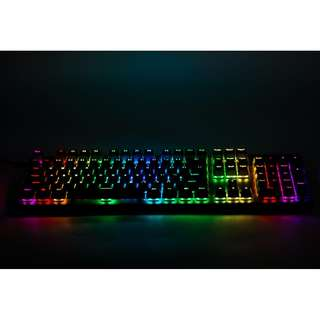 Tecware Phantom 104 RGB Mechanical Keyboard . Comes in blue/brown/red switch