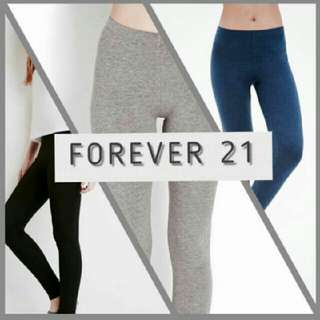 Forver 21 Overruns Leggings