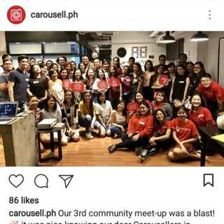 Carousell Community Meet-up 👑