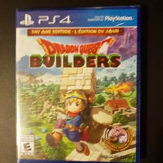 NEW Dragon Quest Builders PS4