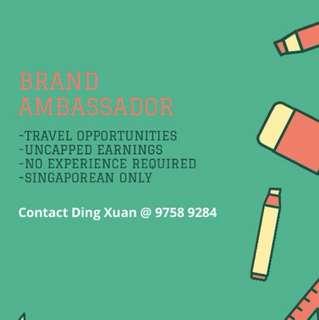 Event / Brand Ambassador. !!! =)