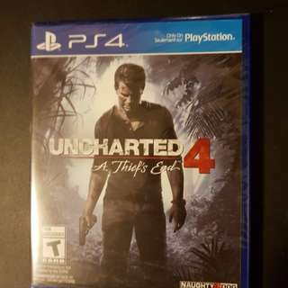 NEW Uncharted 4 PS4