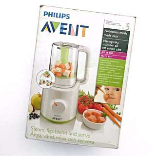 REPRICED!!!Avent Combined Steamer and Blender