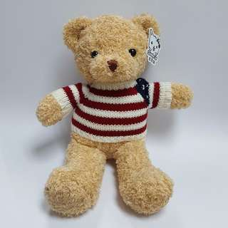 FURRY TEDDY - STRIPED JUMPER