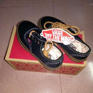 Kids Vans Shoes Black Gum (Unisex)