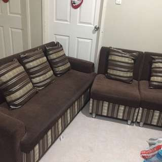 🌸Preloved High Quality Sofa For Pick up only at Cainta