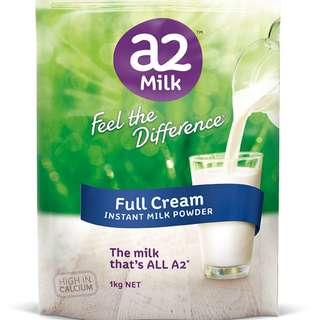 a2 milk dried milk powder 900gm brand new sealed 1kg