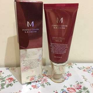 Missha Perfect Cover BB Cream No. 21