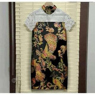 19- Anama Cendrawasih Lace Dress