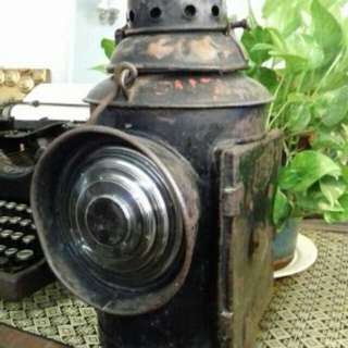 Railway lamp Malayan Railways