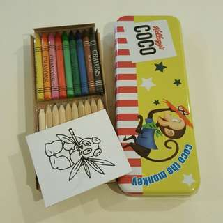 Crayon Color Pencils & Pencil Box