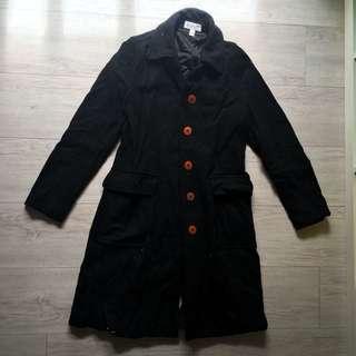 Esprit 保暖羊毛大衣 版型超好看