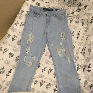 Riders Slim Boyfriend Ripped Jeans
