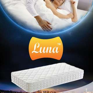 Brand new Luna 168 Medium Soft Spring Mattress - All Size