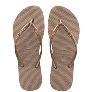 Havaiana H Slim - Rose Gold - Size 37/38