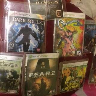 Xbox  360 games rm10 each