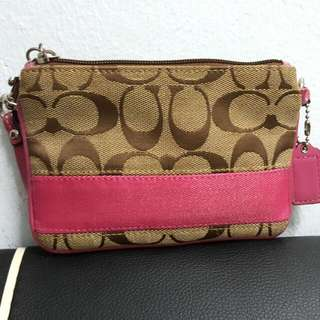 Authentic Coach Small Clutch