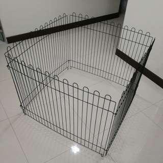 Used pet fences - 4piece playpen