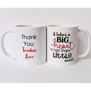 "Customized ""Thank You"" Mug Gifts"
