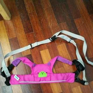 Trunki pink toddlepak harness/leash