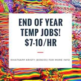 1 MTH TEMP ADMIN **EASY JOB!!** - $7/HR @ ALEXANDRA