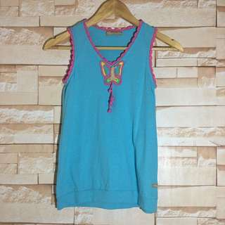 Peppermint Teal Top for girls