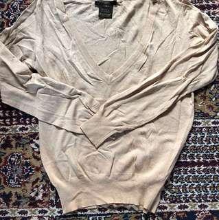 Lv silk knit wear
