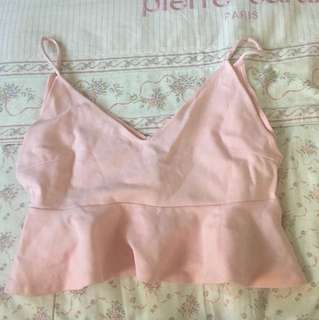 cute pink crop top