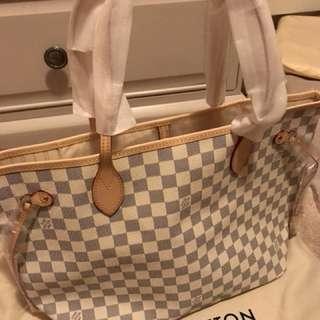 Louis Vuitton neverfull azur Mm
