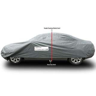ORANGE Elastic fastener to secure RV/SUV/Car Dust Cover.