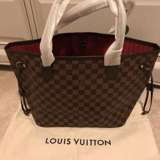 Louis Vuitton neverfull ebene Mm