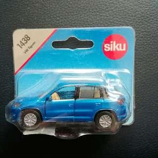Volkswagen vw 福士 玩具車 tiguan藍色