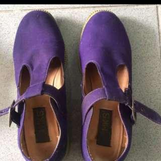 Mks shoes ungu size 36