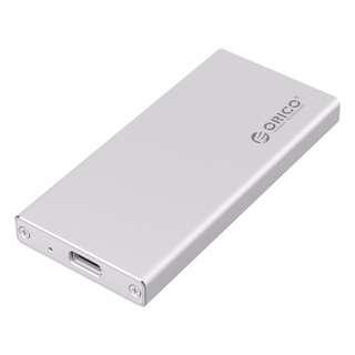 BNIB - ORICO Aluminum mSATA to USB3.0 SSD Enclosure Adapter Case, Built-in ASM1153E Controller - Silver (MSA-UC3)