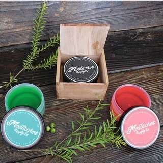Pomade water based mostachos