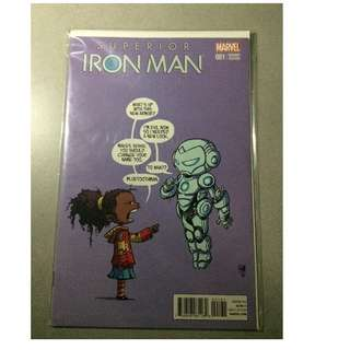 Superior iron man scottie young cover comic