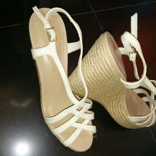 Charles and Keith Wedge Size 38