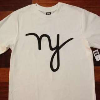 Authentic In4mation NY tee t-shirt in white (M)